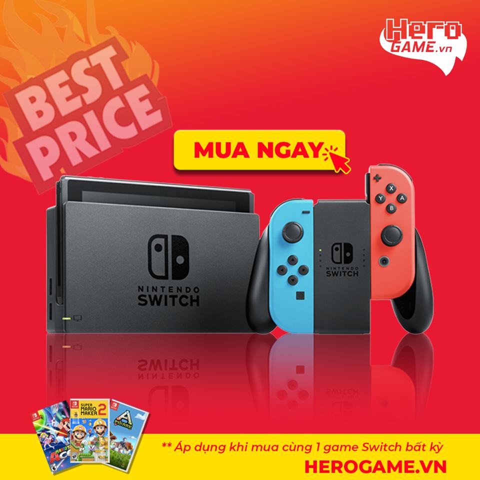 máy Nintendo Switch   Nintendo Switch giá rẻ - Herogame