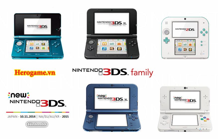 Có phải bạn đang tìm hiểu về Máy game Nintendo 2DS, Nintendo 3DS hay những  dòng New 3DS , New 3DS LL, New 3DS XL, New 2DS XL, thật khá là rắc ...