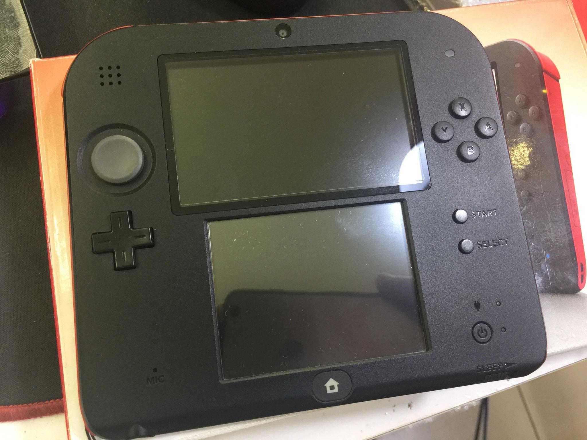 Nintendo 2DS BLue cũ - Máy fullbox mới 99% - Máy đã hack   thẻ nhớ 4gb -  Chép fullgame miễn phí