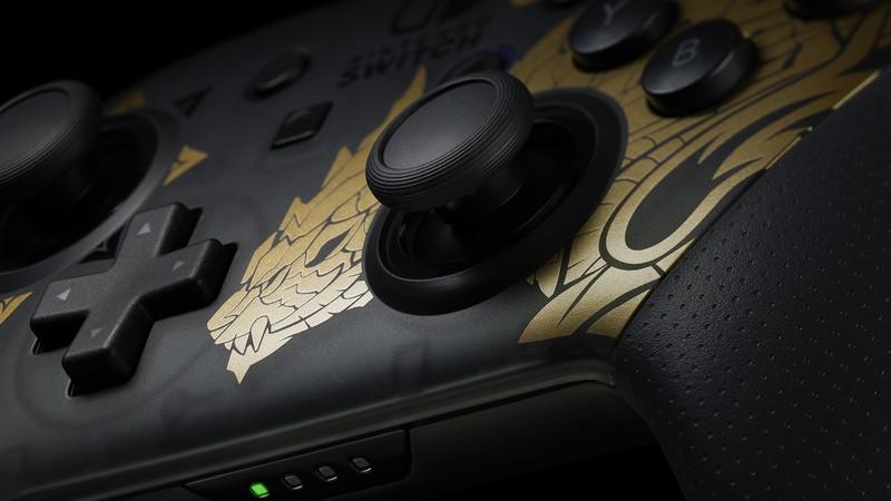 Nintendo Switch Pro Controller - Monster Hunter Rise