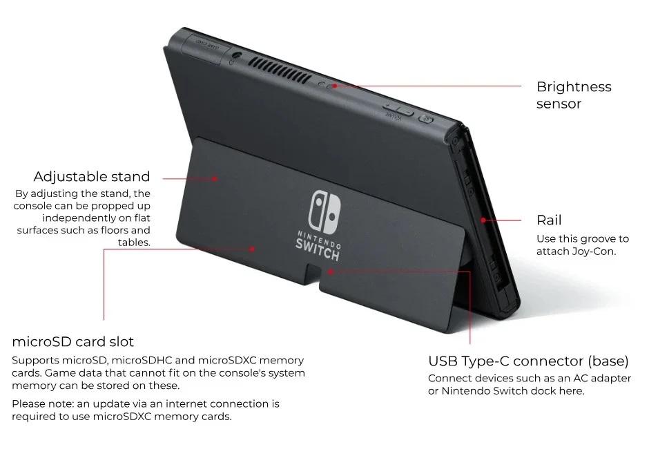 Máy chơi game Nintendo Switch OLED model là gì? - Liệu có đáng để nâng cấp?